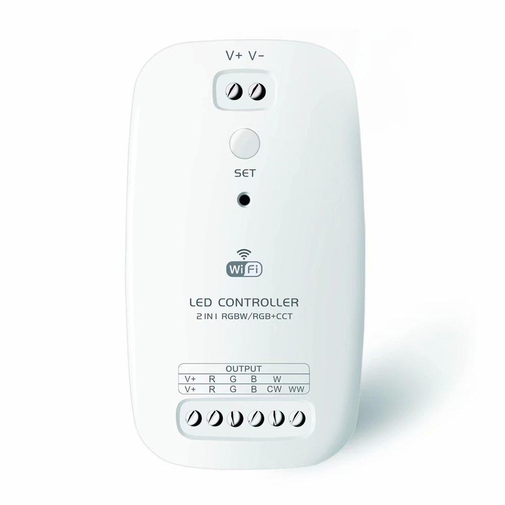 Newest Rgbw Rgb Cct 2 In 1 Wifi Led Controller Dc 9v 12v 24v Wiring Diagram